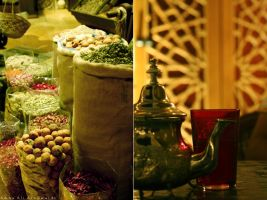 Moroccan tea 'n'  Spices by Aanms101