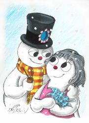 Frosty and Crystal by Madame-Kikue