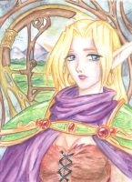 gisela watercolored by glance-reviver