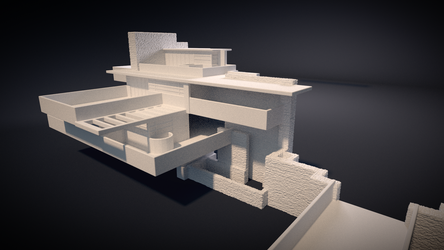 Falling Water House - Another Look by JoeyBlendhead