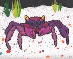 Purple Crab by glenkamo