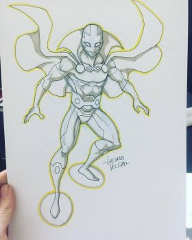 Mr Miracle sketch by LucianoVecchio