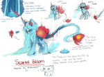 Oc : Scarlet Bloom Scraps by AquaGalaxy