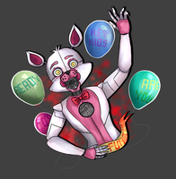 It's fun time ! - Fnaf sister location by PuzzledInGalaxy