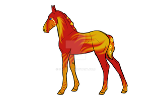 Fiery colt by Scotis