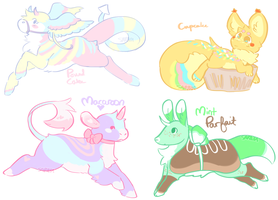 OTA One-Off Sweets Adoptables - CLOSED by audin0