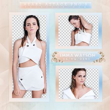 Emma Watson PhotopackPNG by bubblegumhq