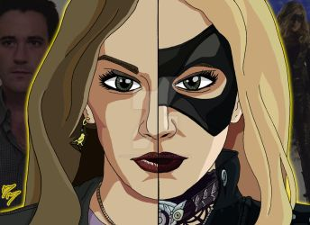 Arrowverse Duality - Laurel Lance/Black Canary II by OptimumBuster
