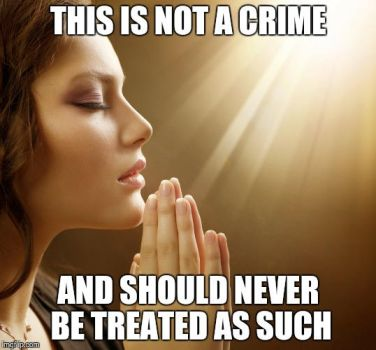 Prayer is not a crime by QuantumInnovator