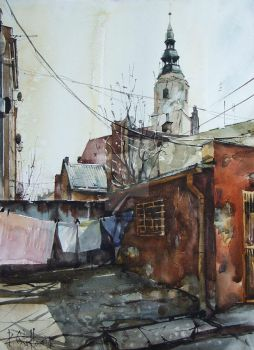 Dzierzoniow, Between Winter and Spring by PawelGladkow