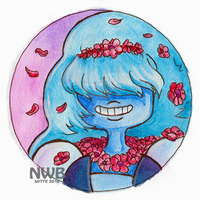 Sapphire badge by mitani-chan