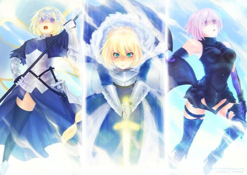 Fate Grand Order Fanart by annabelle-l
