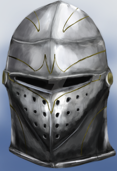 Knight Helmet by mike6432