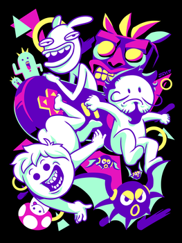 Oney Plays - Chillin With Friends by Kaigetsudo