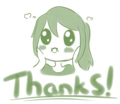 Thank you!!! by luko3artist