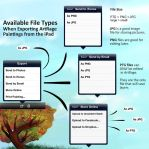 Exportable File Types from ArtRage for iPad by ArtRageTeam