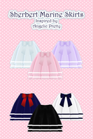 Sherbet Marine Skirt [ DOWNLOAD ] by Avant-Garde3D