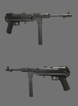 MP40 by JohnnieWooker