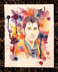 The Tenth Doctor by Shamaanita