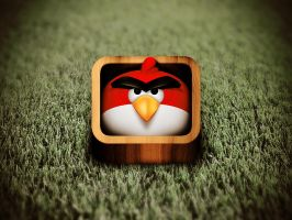 Angry Bird icon by phig