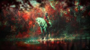 Red Waters by Lucille-Winged