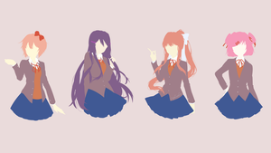 Doki Doki Literature Club! by Sephiroth508