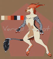 Male Anthro Vernid (Open) by Mirthful-Adopts