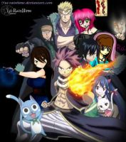 [OPEN COLLAB - Group ] FAIRY TAIL: Yui and .. by Yuiccia