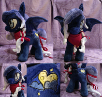 Cobalt Eclipse Plush by Cryptic-Enigma