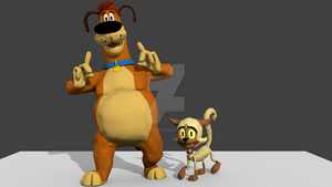 Harold and Chester (Alt. Variants) by Korey-SonicFan22