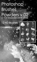 Shades Powders v.02 HD Photoshop Brushes by shadedancer619