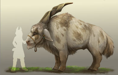Mountain Goat Thing by JackTheVulture