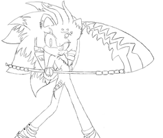 Prize 2: Aybss Outline dtrain by MysticalGrl24