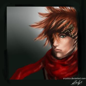 D.Gray-man WIP teaser - Lavi by crysticx