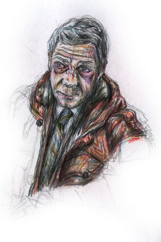 Lester Nygaard WIP by StaxMaye