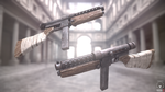 Rust Inspired Guns by newdeal666