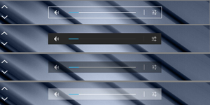 Android Jelly Bean Volume Bar Skin for Rainmeter by nik2104