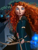 Merida Is Brave by manukongolo