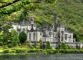 Kylemore Abbey by MisterKrababbel