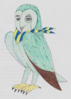 21 the Barn Owl by Guadisaves02