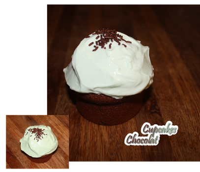 Cupcakes chocolat by Ombreuse
