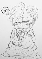snuggie grump by MetalPandora