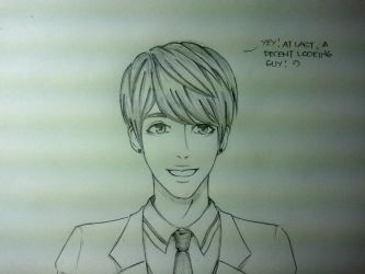 handsome anime guy by paaat19 on deviantart