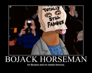 BoJack Horseman motivational poster by lifty4ever