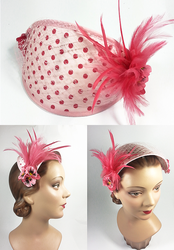 50s style hat (sold) by Sundry-Art