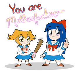 Pop Team Epic by Angelzillah