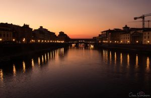 Florence sunset 4 by PinkVillain