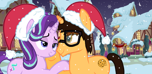 A Romantic Hearth's Warming Night by CrazyCartoonFanatic