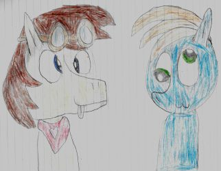 Two silly stallions[CONTEST ENTRY] by BronyKAL9278REBOOT