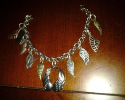 Metal Wing Bracelet (Customized for me) by Eternalskyy